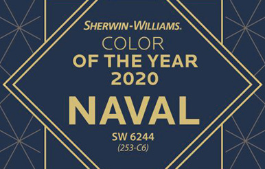 Sherwin-Williams Color of the Year 2020: Naval SW 6244 (253-c6). Explore Color