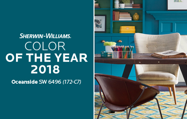 Oceanside The 2018 Color Of Year