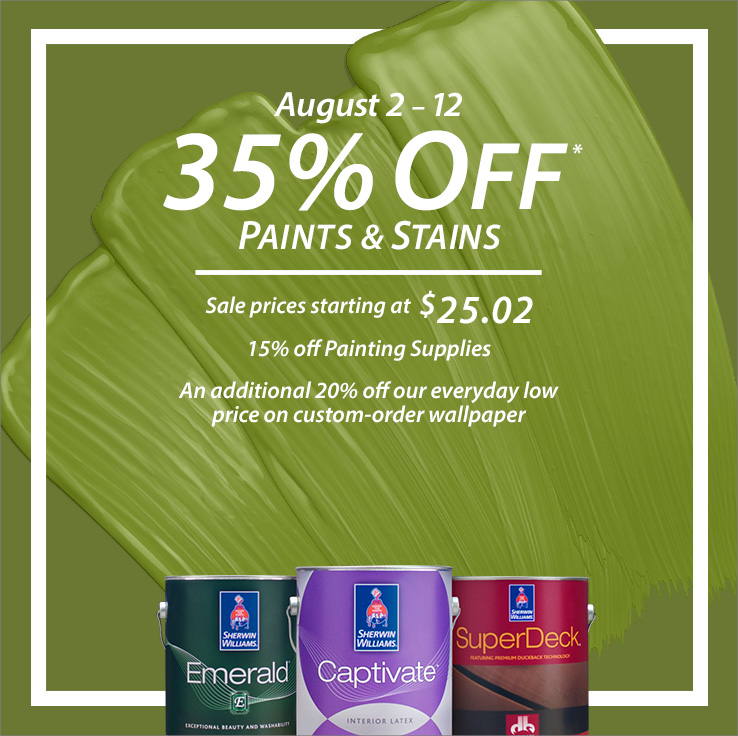 Sherwin-Williams Coupons and Sales  Print a Coupon and Save Today