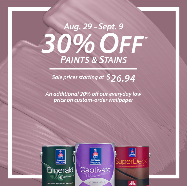Sherwin-Williams Coupons and Sales  Print a Coupon and Save