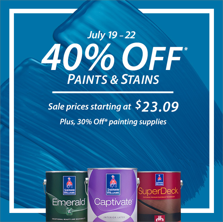 Sherwin-Williams Coupons and S...
