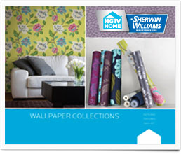 Hgtv home by sherwin williams wallpaper collection - Easy peel off wallpaper ...