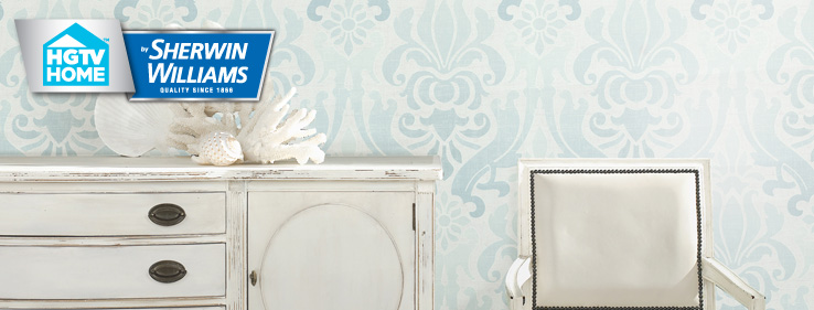 Coastal cool wallpaper collection hgtv home by sherwin for Sherwin williams wallpaper