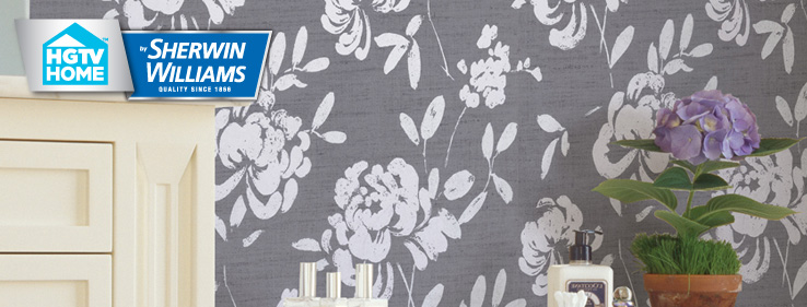 Livable Luxe Wallpaper Collection HGTV HOME by SherwinWilliams
