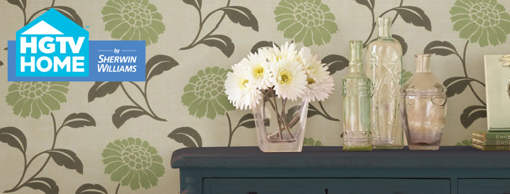 HGTV HOME™ By Sherwin-Williams Wallpaper Collection