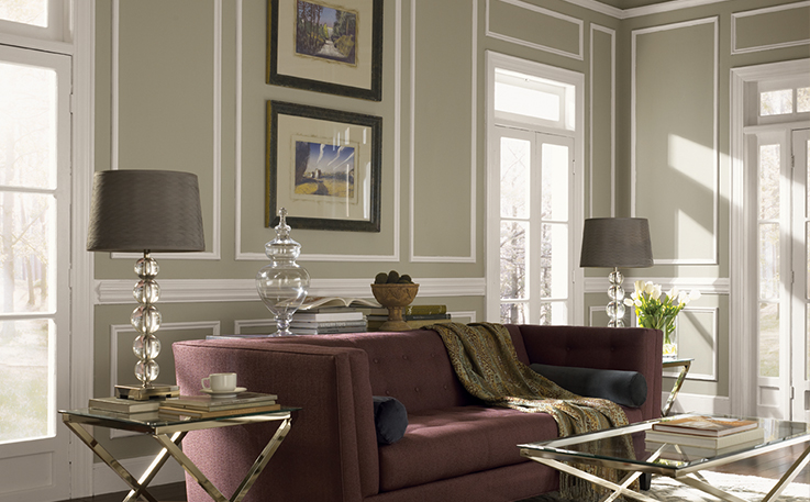 Inspiration Comes In Perfect Harmony SherwinWilliams New Sherwin Williams Living Room