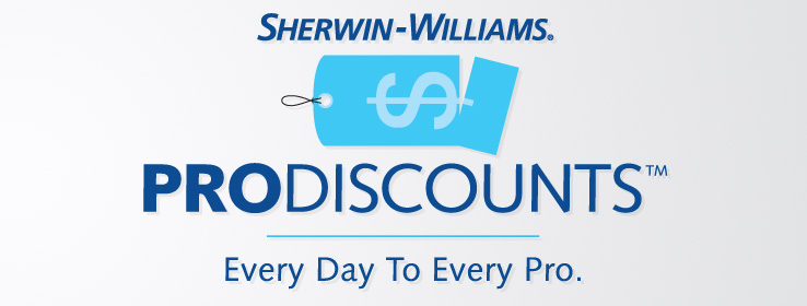 professional discounts for professionals by sherwin williams