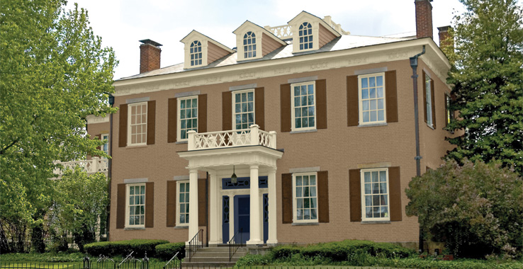 America s heritage palette architectural styles throughout american history - Heritage paint colours exterior pict ...
