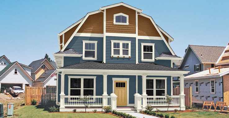 America s heritage palette architectural styles for Classic house colors