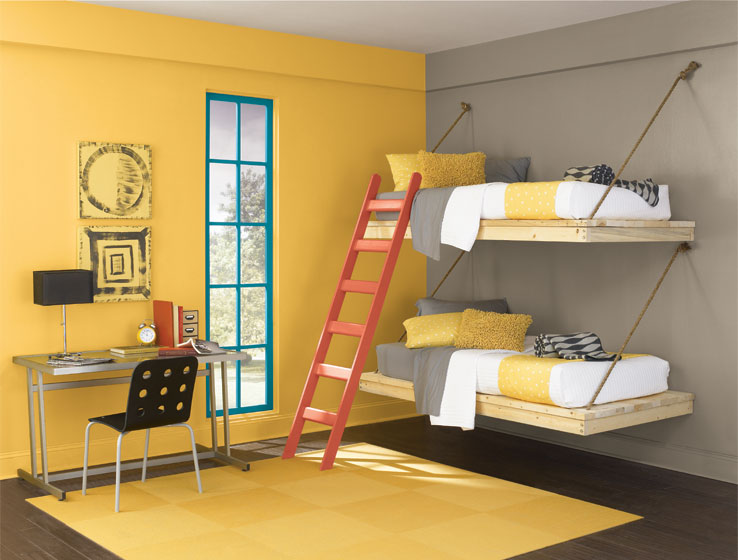 Kids 39 colors teen space sherwin williams for Keystone grey sherwin williams exterior