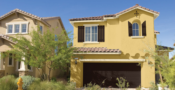 Desert southwest style sherwin williams - Sherwin williams exterior paint examples style ...