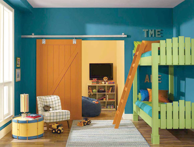 Kids Colors Abcs And 123s Hideaway Sherwin Williams