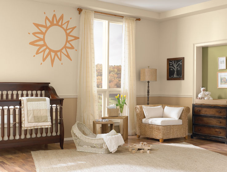 Sherwin williams paint colors baby room calming bedroom Calming colors for baby nursery