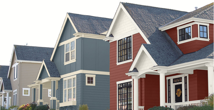 Red Barn Or BoothBay Blue Exterior Inspiration