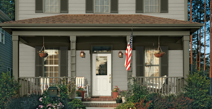 America 39 s heritage sherwin williams - Light gray exterior paint colors ...