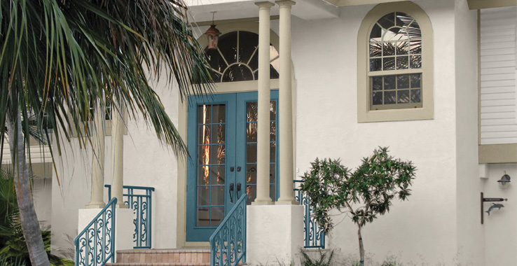 Exterior paint schemes stucco - Southern Shores And Beaches Sherwin Williams