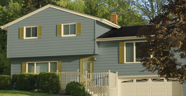 suburban modern - Exterior House Color Schemes