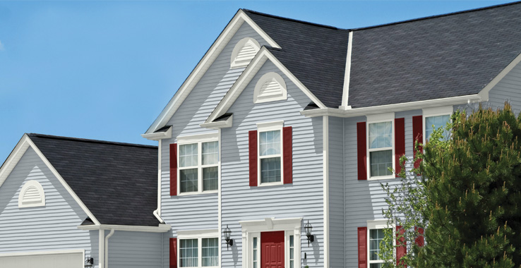 Suburban traditional sherwin williams for Residential exterior paint color design