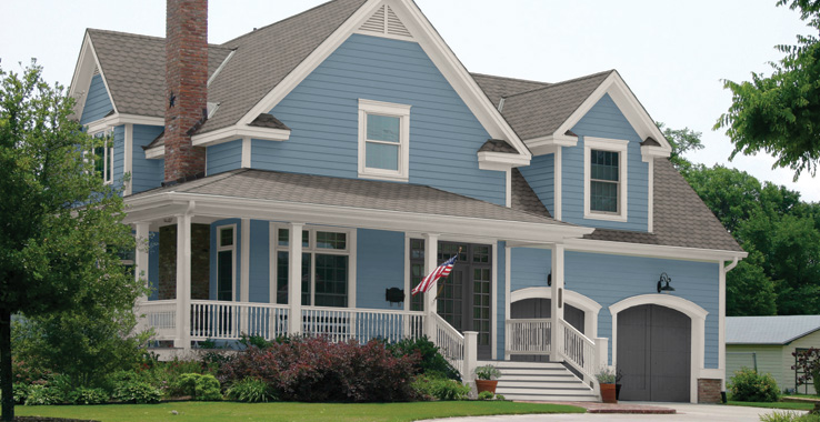 Suburban traditional sherwin williams - Light gray exterior paint colors ...