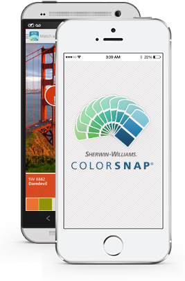 Paint color matching app colorsnap paint color app - Paint color coordination tool ...