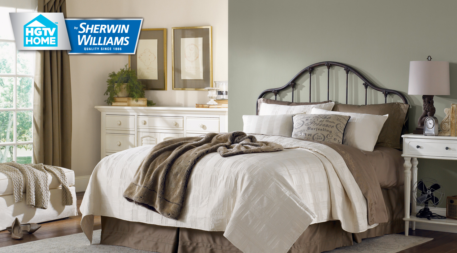 Neutral nuance color palette hgtv home by sherwin williams for Sherwin williams neutral paint colors