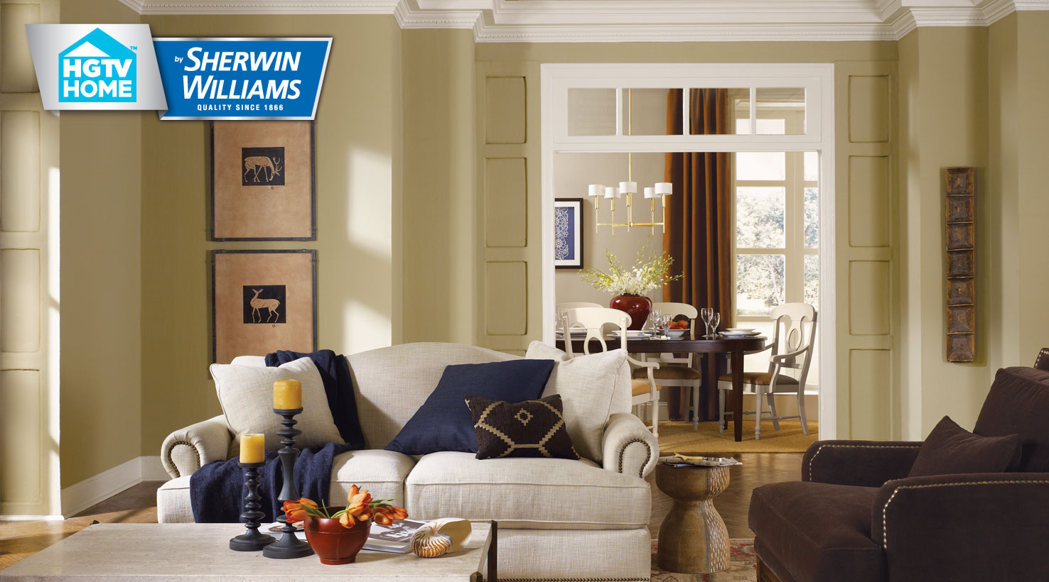 traditional twist color collection hgtv home by sherwin williams. Black Bedroom Furniture Sets. Home Design Ideas