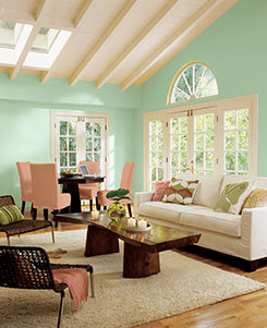SW - 2013 Color Of The Year - Living Room
