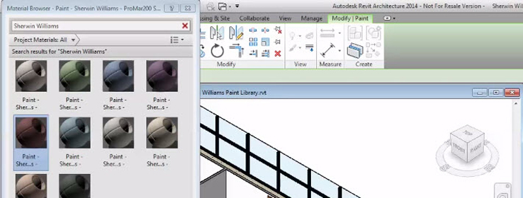 Sherwin-Williams Offers Seamless Integration With Autodesk Revit