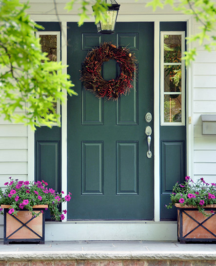 Planters For Front Porch Curb Appeal