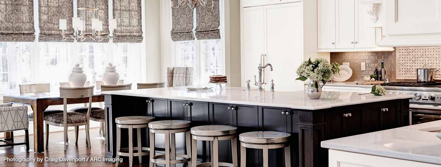 Livable Luxe - Colonial Kitchen Designed For Living