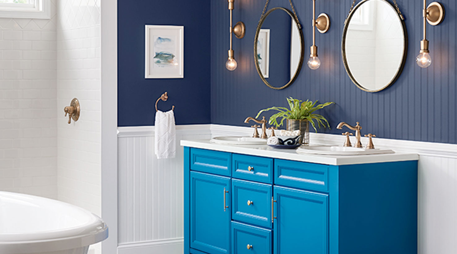 Bathroom Paint Color Ideas | Inspiration Gallery | Sherwin-Williams