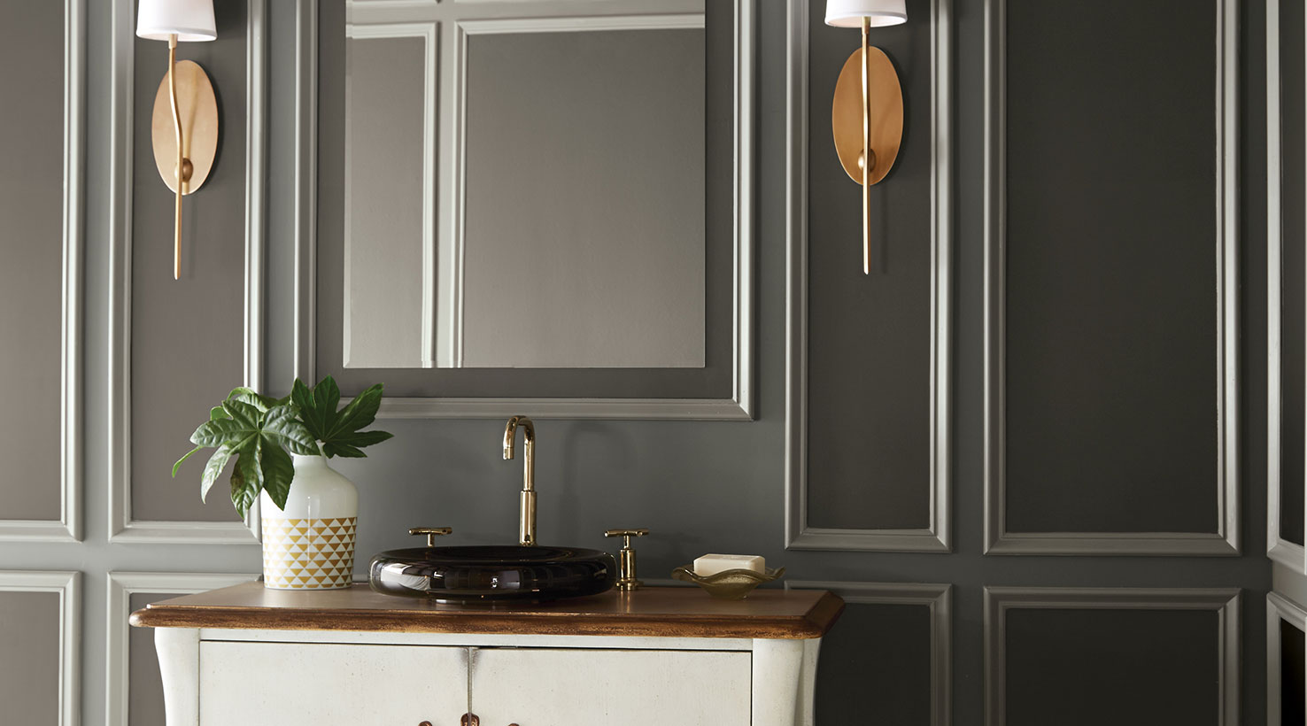Gray Bathroom Colors Part - 20: ... Bathroom - Neutrals ...