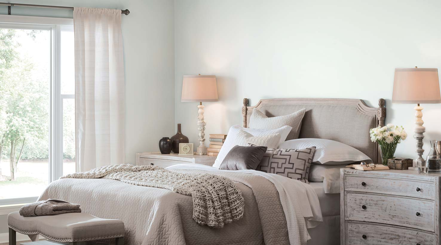 Bedroom Colors Grey bedroom paint color ideas | inspiration gallery | sherwin-williams