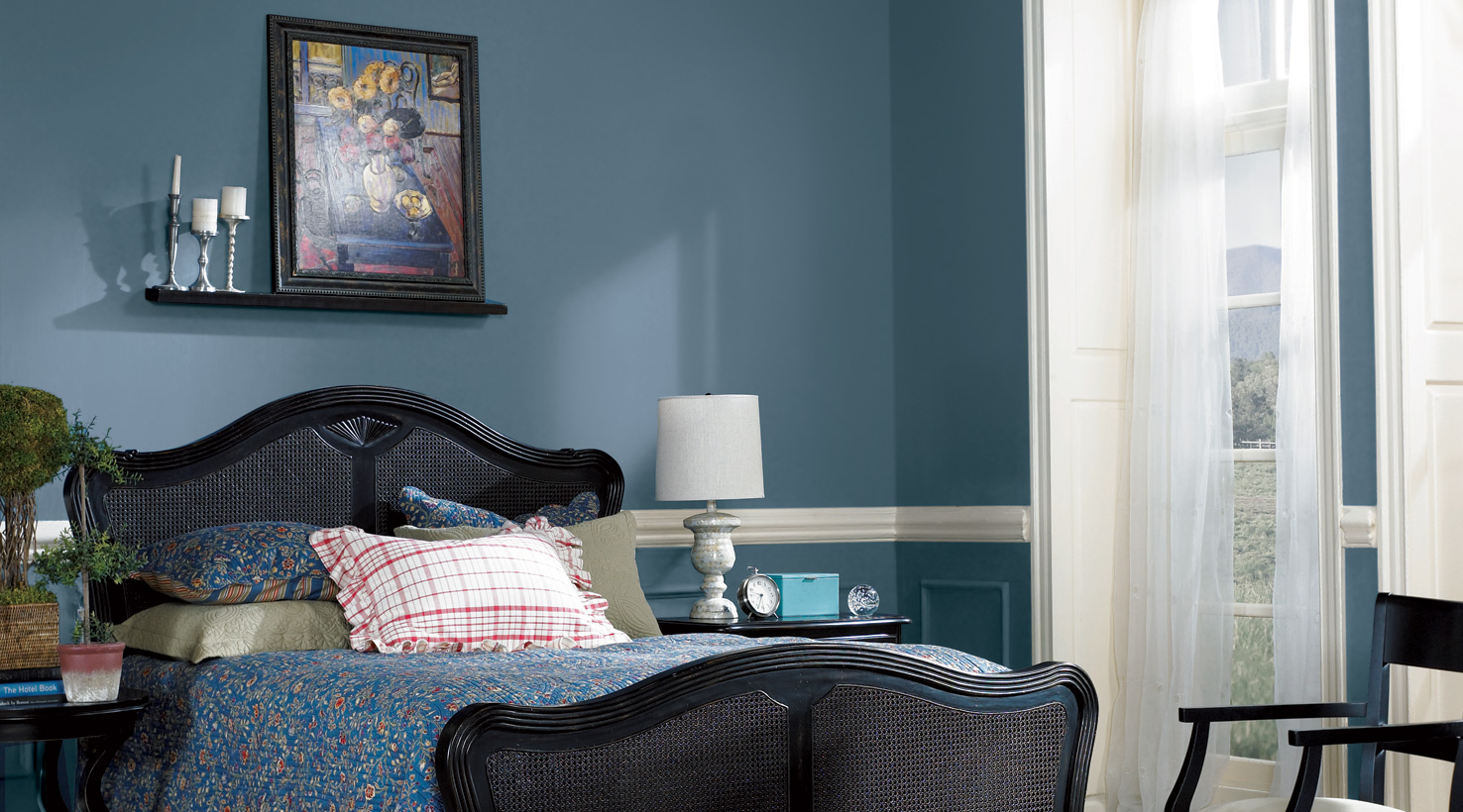 bedroom - Blue Bedroom Paint Colors