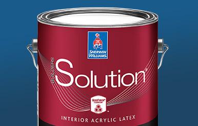 Builders Solution Interior Latex Paint Sherwin Williams