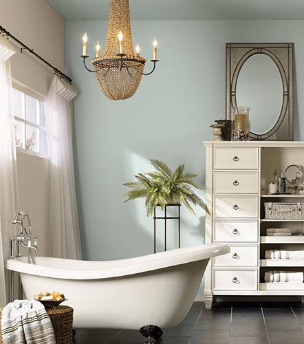 Master Bath Colors: Cozy Paint Colors