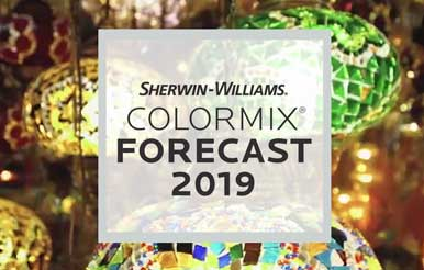 Christmas Forecast For 2019 Colormix® Forecast 2019 | Color Trends | Sherwin Williams AS&D