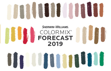 Color Forecasts See The Inspirational Palettes Sherwin Williams