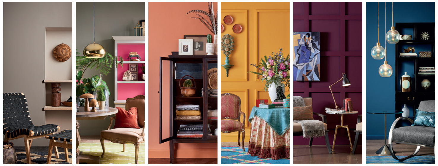 Color Forecast See The Inspirational Palettes Sherwin Williams