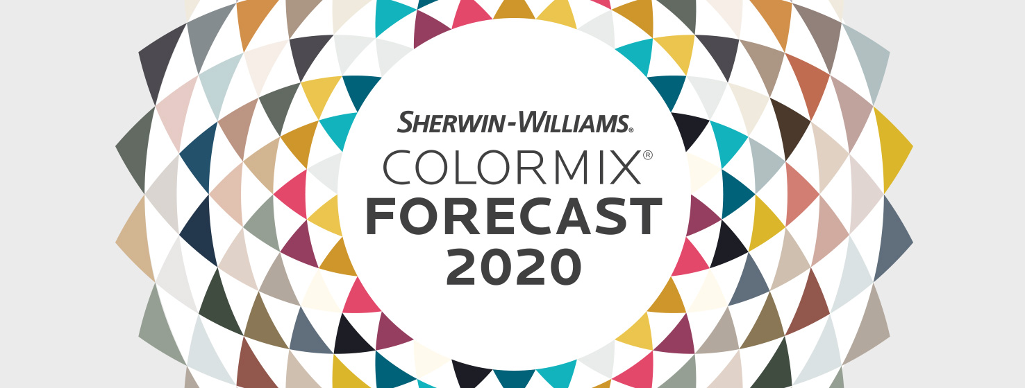 2020 Art Trends.Colormix Forecast 2020 Color Trends Sherwin Williams As D