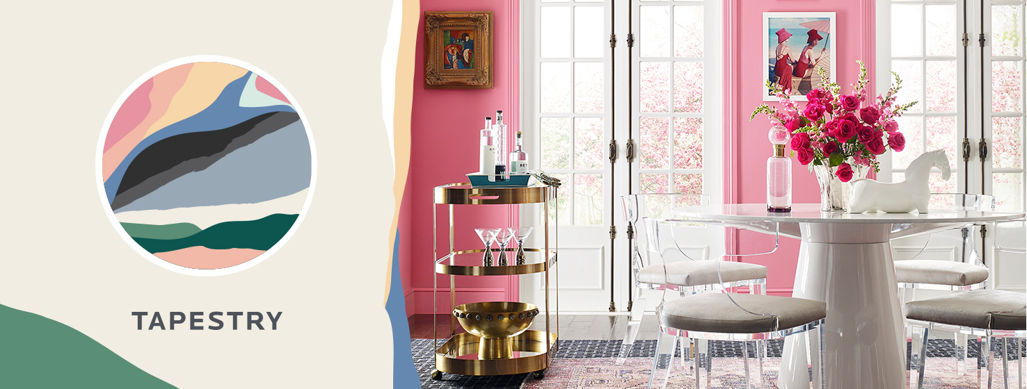Sherwin-Williams Tapestry Color Palette