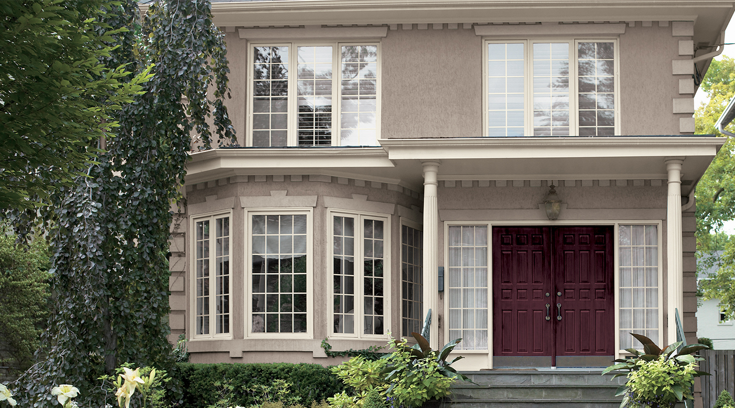 Exterior house color inspiration sherwin williams - Exterior painting vancouver property ...