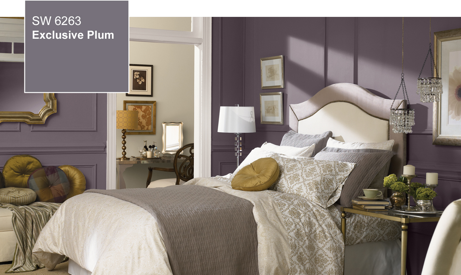 2014 Color Of The Year - Exclusive Plum (SW 6263) by Sherwin-