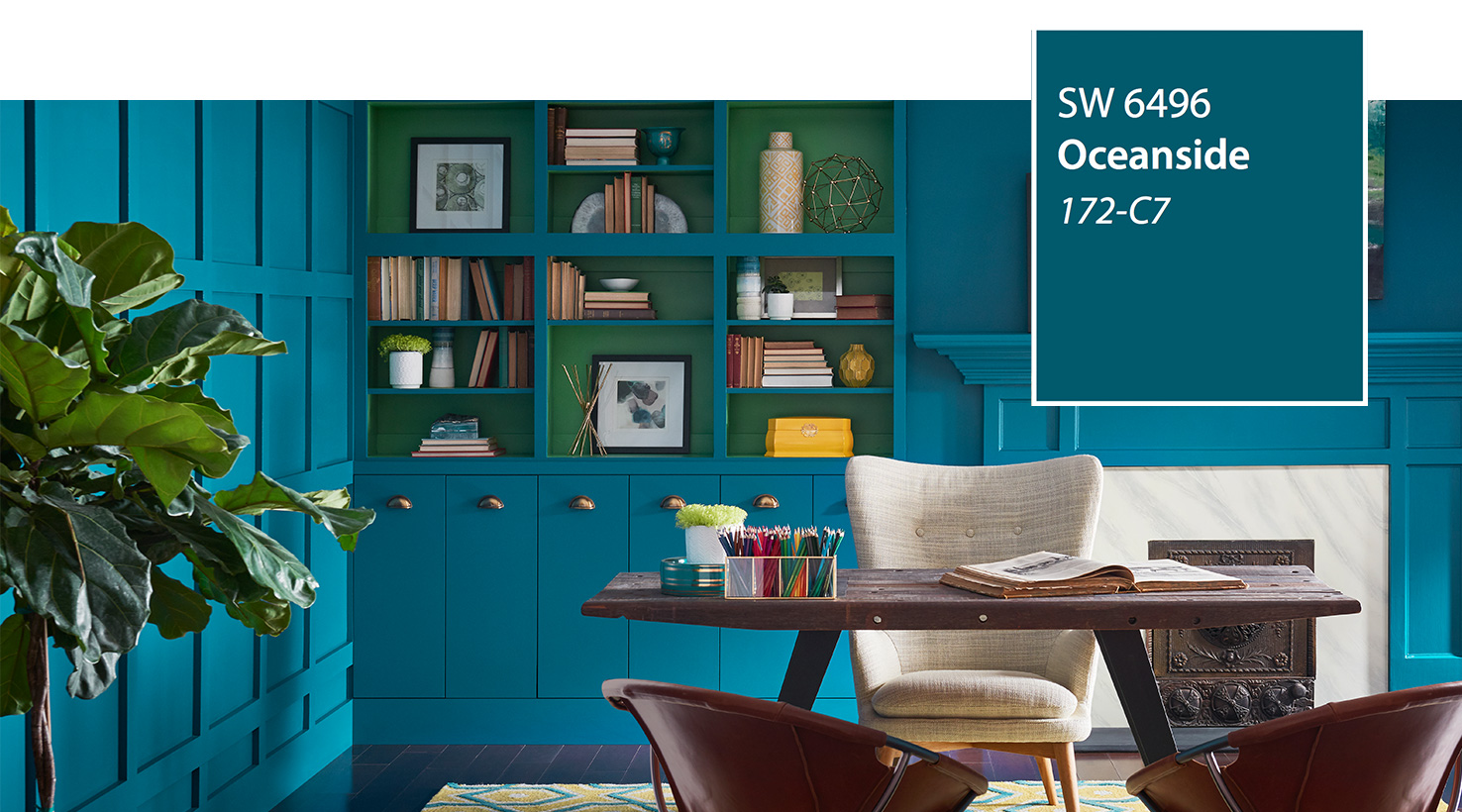 Sw Color Of The Year 2018 Oceanside 6496 Slide 1