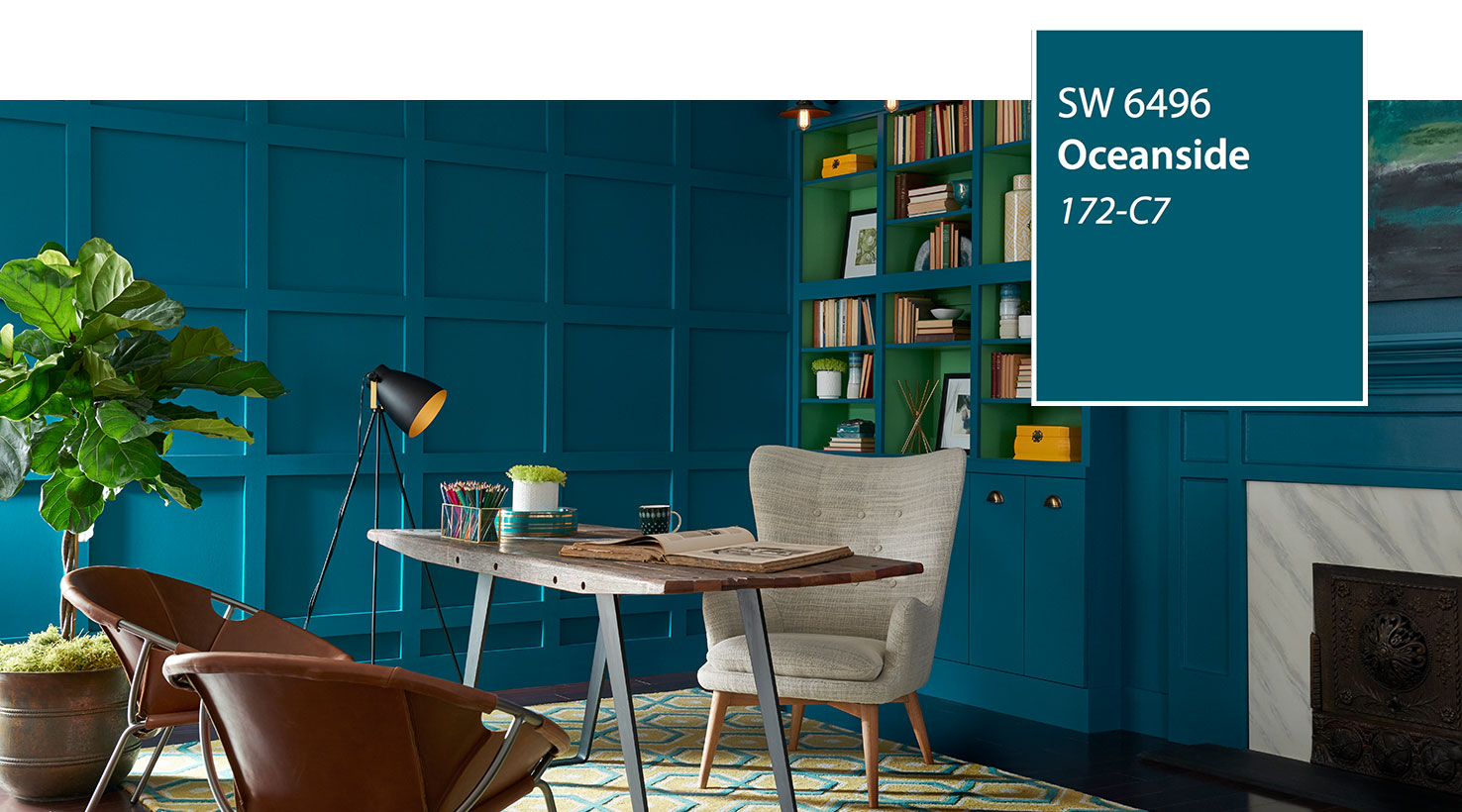 Sw Color Of The Year 2018 Oceanside 6496 Slide 2