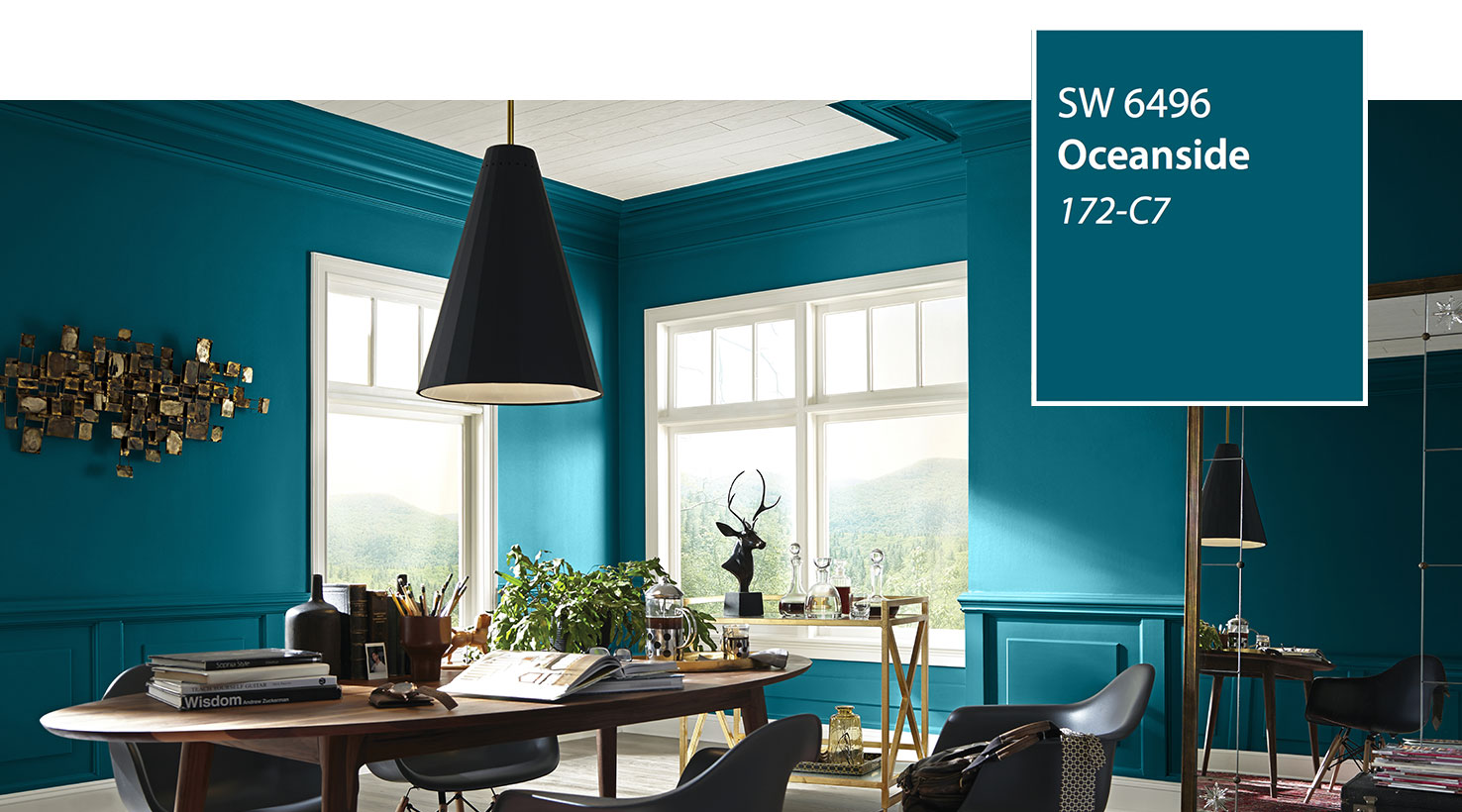 SW - Color of the Year 2018 - Oceanside SW 6496 - slide 4