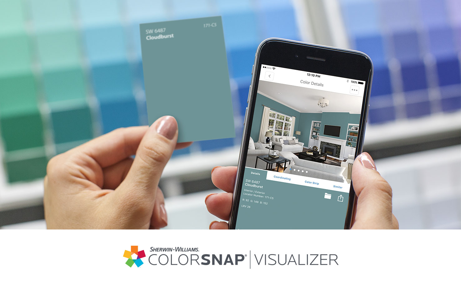Paint Color Matching App: ColorSnap® Paint Color App - Sherwin ...