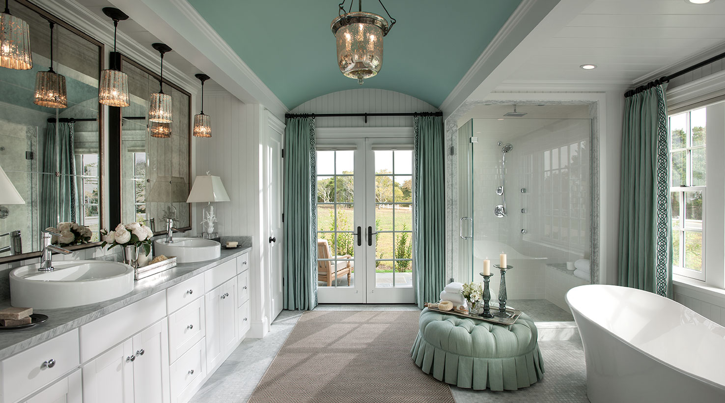 Hgtv dream home 2015 the look of hgtv sponsored by for Sherwin williams ceiling paint colors
