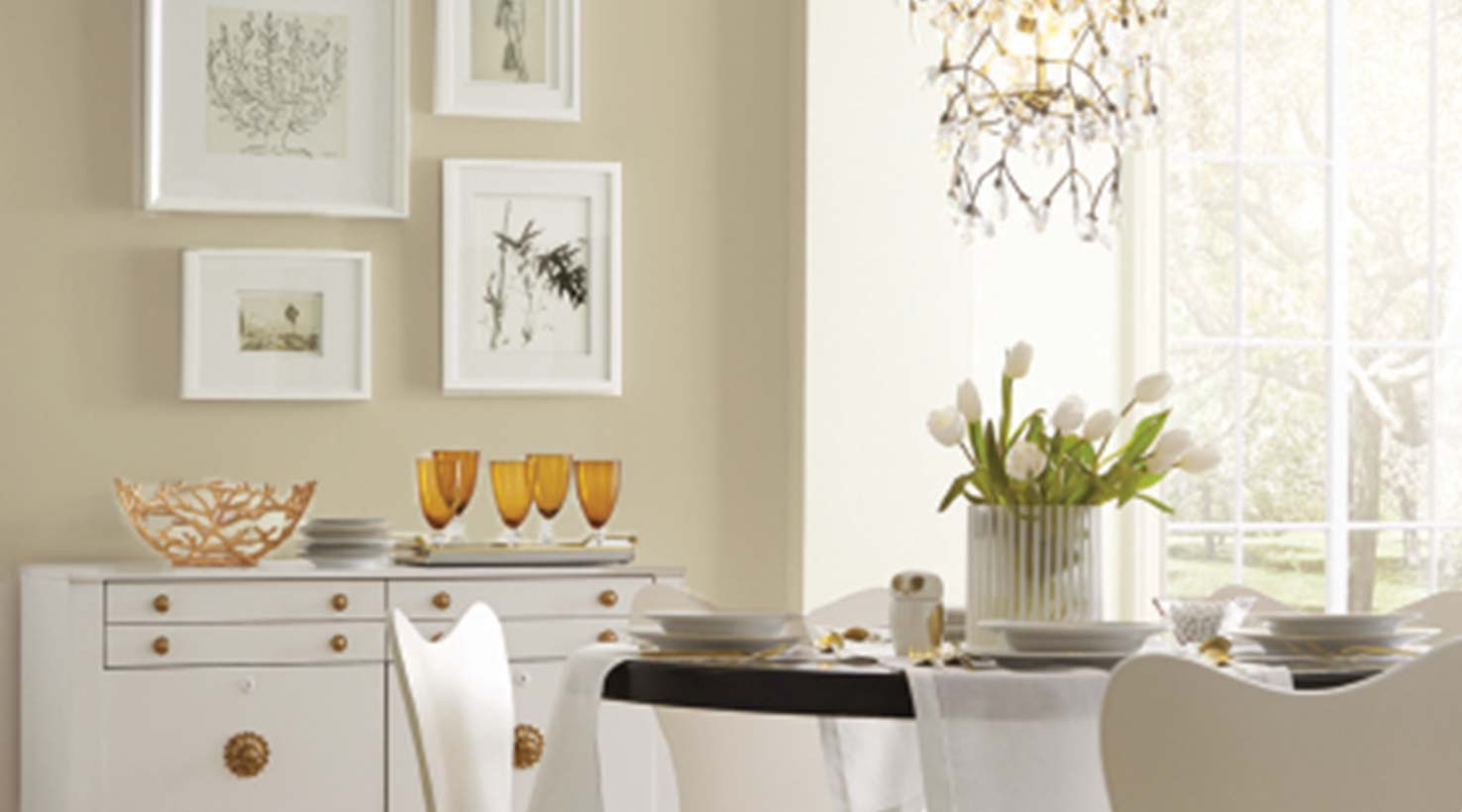 Beautiful ... Dining Room   Neutrals ...