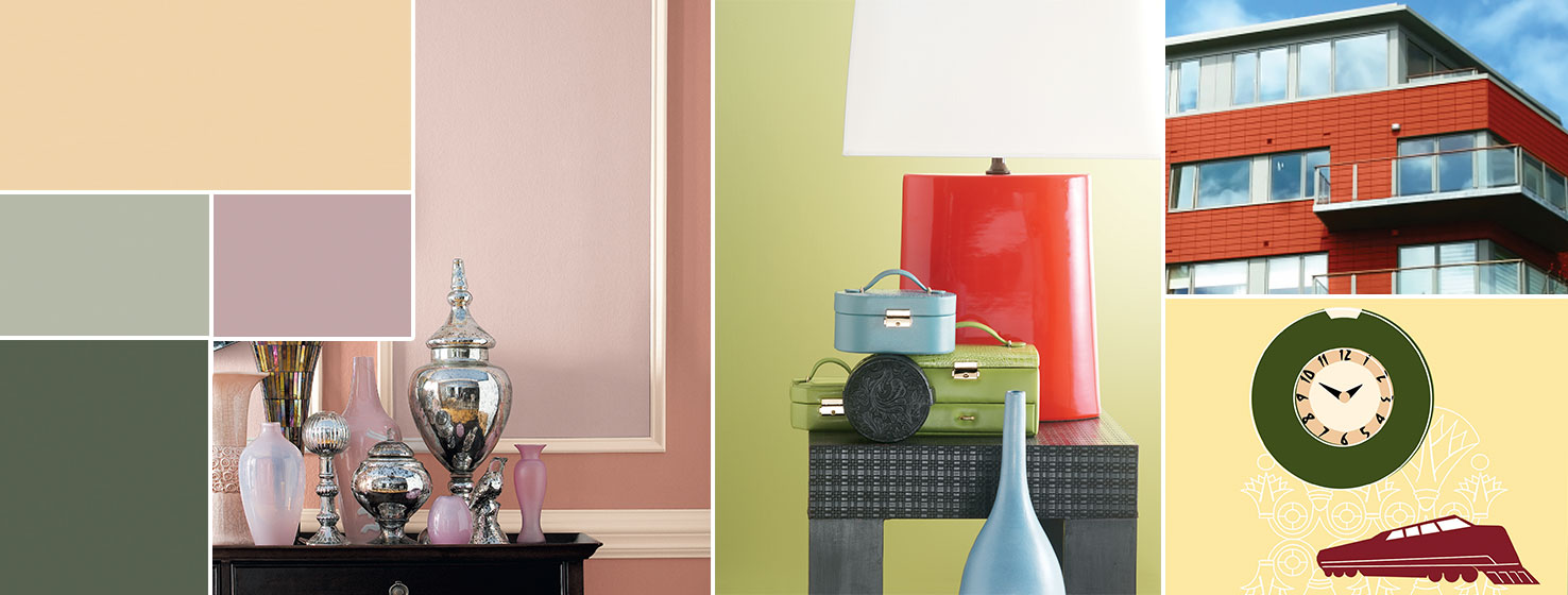 Color Through The Decades 1930s 1940s Sherwin Williams